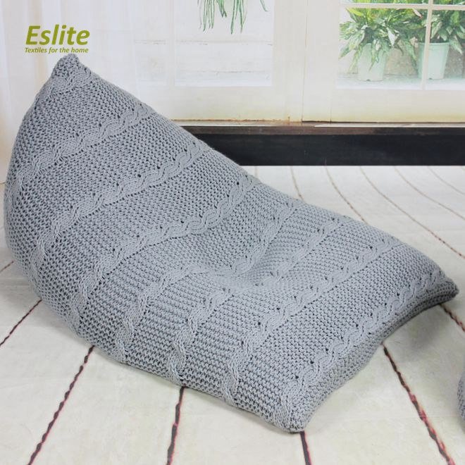 Peachy Acrylic Ckunky Knitted Bean Bag Sofa Lazy Boy Ottoman Bed Triangle Beanbag Chair Buy Ottoman Bed Bean Bag Sofa Ottoman Chair Product On Alibaba Com Forskolin Free Trial Chair Design Images Forskolin Free Trialorg
