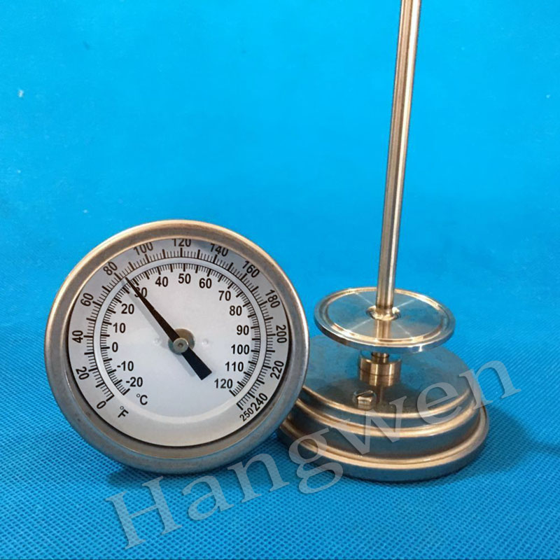 Industrial Bimetal thermometer wine thermometer