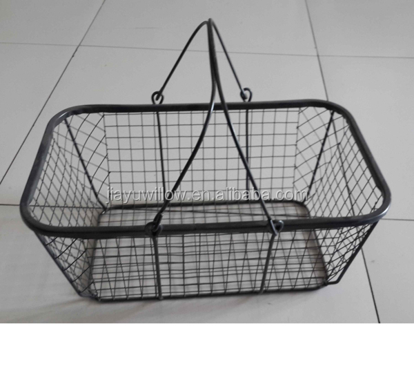 Plastic Coated Wire Baskets Wholesale Wire Baskets Kitchen Wire ...
