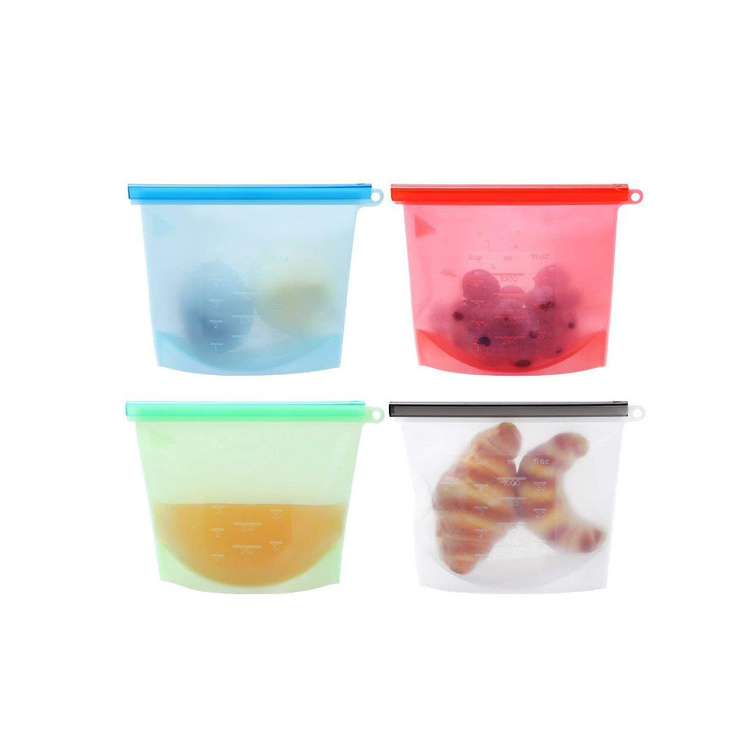 Food Preservation Fresh reusable silicone food storage bag