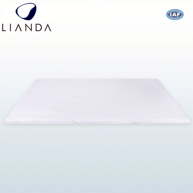 Pillow top round cool and warm memory foam bed topper mattress pad