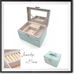 Beauty rolling makeup case with mirror/makeup vanity case/professional makeup case