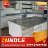 high class stainless steel pantry cupboard for stylish home