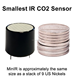MinIR NDIR CO2 Sensor 0-100%Vol IR LED CO2 sensing