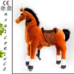 (EN72&ASTM&CE)~(Pass!!)~ Ourdoor Mechanical Ride On Animal Toy Horse For Kids To Ride/Rocking Horses plush animal toys