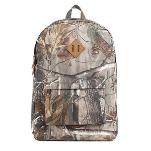2018 Fashion real tree print 21L Camouflage Laptop Backpack For Day pack School Traveling