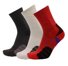 KANGYI 2019 sport Professional socks basketball  mens wholesale price athletic running printing ankle compression  dri fit socks