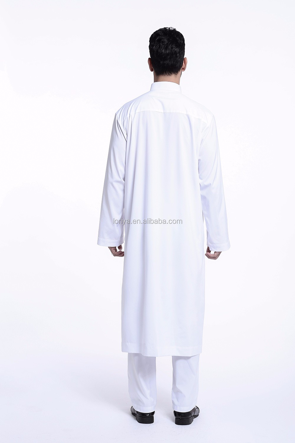 Best-selling online islamic men wear maxi kaftan thobe dress must have in stock muslim jubah dubai kaftan kimono men abaya