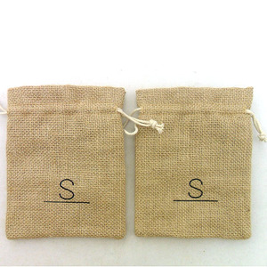 Promotional Small Jute Bags Wholesale Cheap Burlap Tote Bags Jute Products
