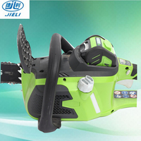 high quality hand wood cutting machine 40V electric chain saw price