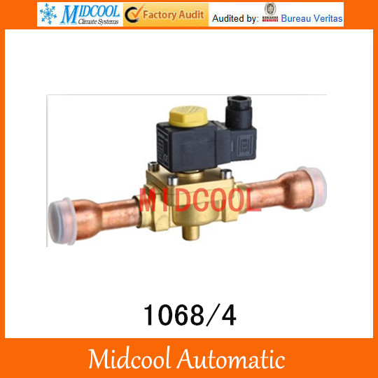 2 position air condition valves 1068/4 linear refrigeration brass ODF solenoid valve