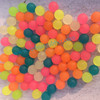 colorful 6mm round rubber bead Balls