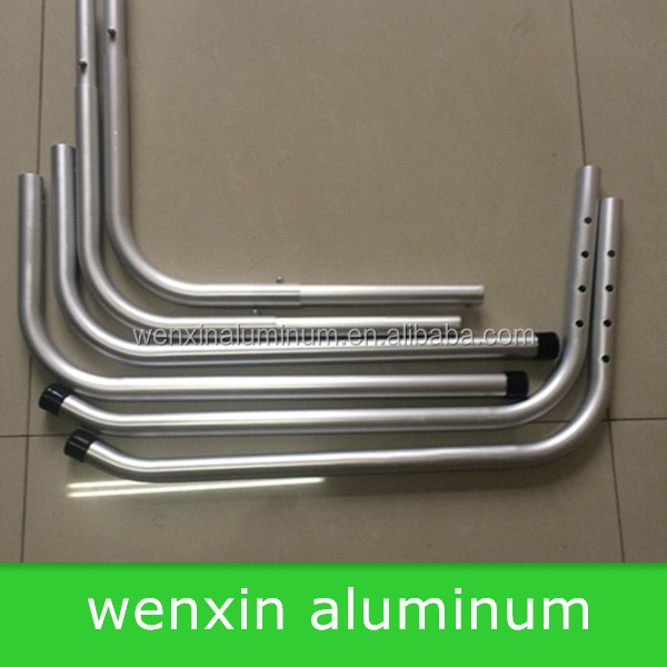 "1"" bend aluminum tube used in Medical equipment"