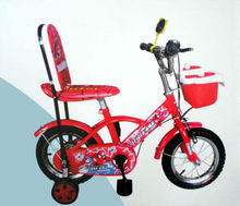 12''Mini cute red color with plastic basket baby toy chooper bike,children bike bicycle,kids cycles