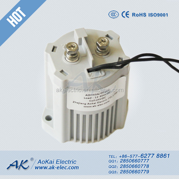 24v High Voltage Contactor Standard Type 50a Used In Used In Charging Pile  Adh50 Dc Contactor,Aokai High Voltage Dc Contactor - Buy Dc Output Type