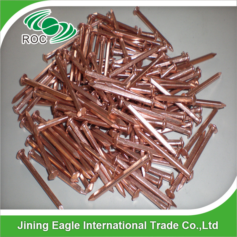 rose head copper boat nails for boat building