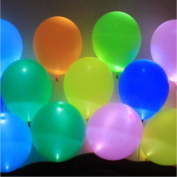 colourful led latex balloon lights christmas decoration. Black Bedroom Furniture Sets. Home Design Ideas