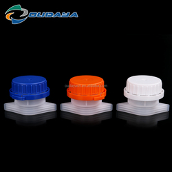 Colorful plastic lids with diameter 33mm spout for pouch