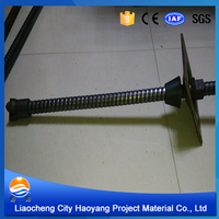 Stainless steel hollow round rod for grout machine