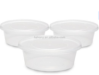 Plastic Food Storage Containers with lids - Restaurant Deli Cups / Foodsavers for Party Supplies, Baby & Portion Control - Kids