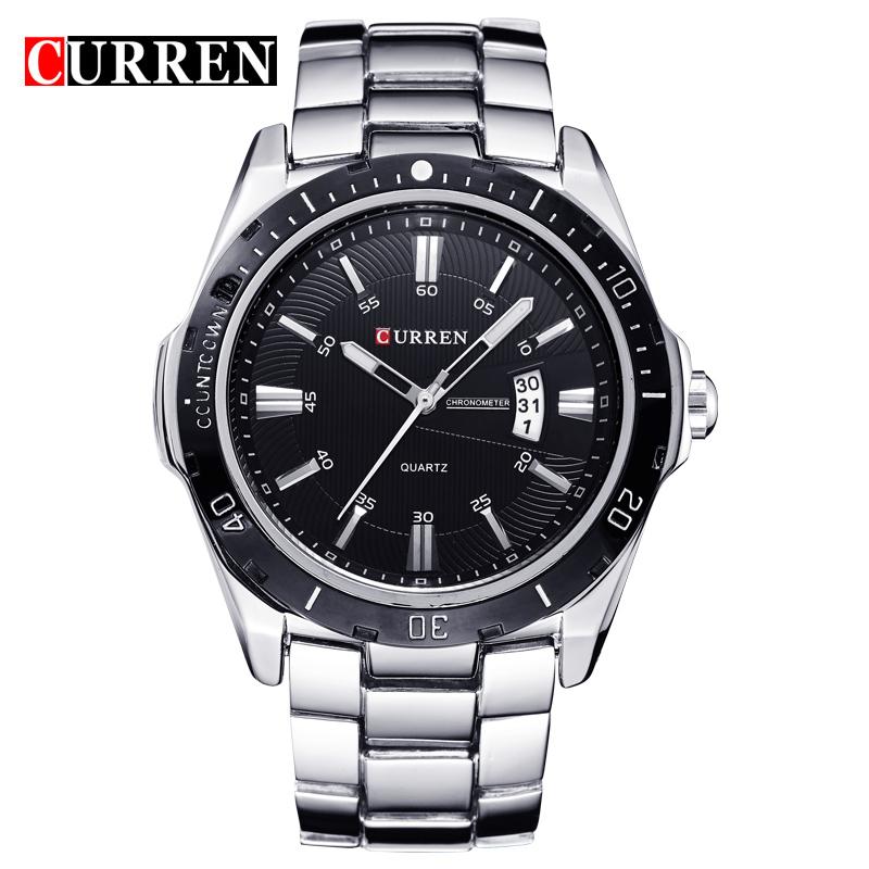NEW curren watches men Top Brand fashion watch quartz watch male relogio masculino men Army sports Analog Casual 8110 фото