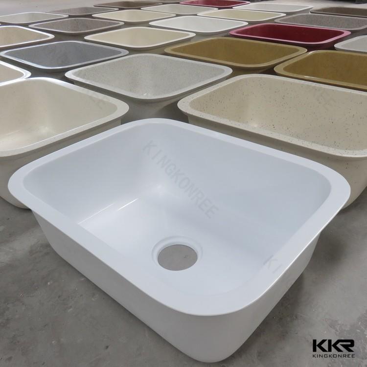 Solid Surface Undermount Corner Philippines Kitchen Sink