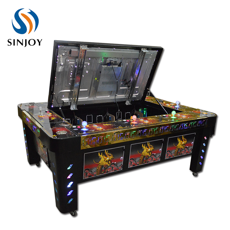 Amazing Monkey King Fish Game Table Jammer Coin Operated Arcade Cheats