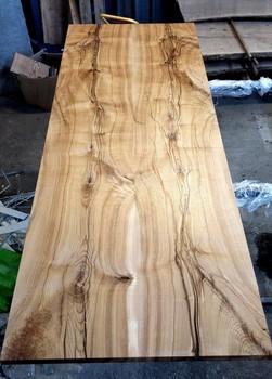 Semi Finished Tabel Tops Ash Wood Or Oak Large Slab Board Log