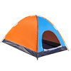 Wholesale single layer fiberglass 6 person tents camping outdoor family