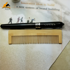 FQ brand OEM logo disposable bamboo lice comb
