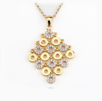 Multi round design ladies charm necklace pendants 14k gold jewelry multi round design ladies charm necklace pendants 14k gold jewelry wholesale italy silver bridal jewelry pendant aloadofball Image collections