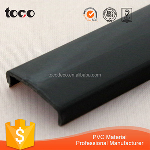 Plastic U channel Extrusions/PVC PP ABS Edge Protection