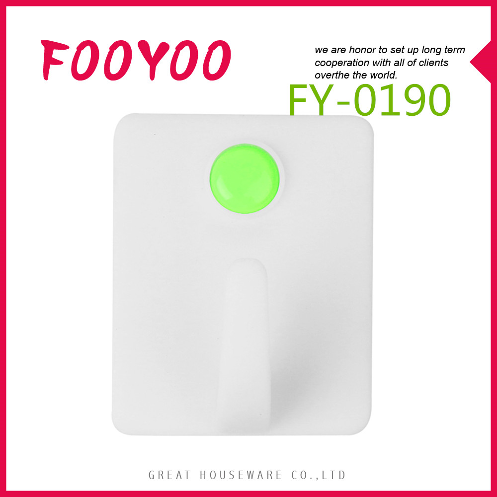 FOOYOO FY-0190 HANGER HOOK PLASTIC BAGS CLOTH HOOK PLASTIC HANGING HOOK BAG