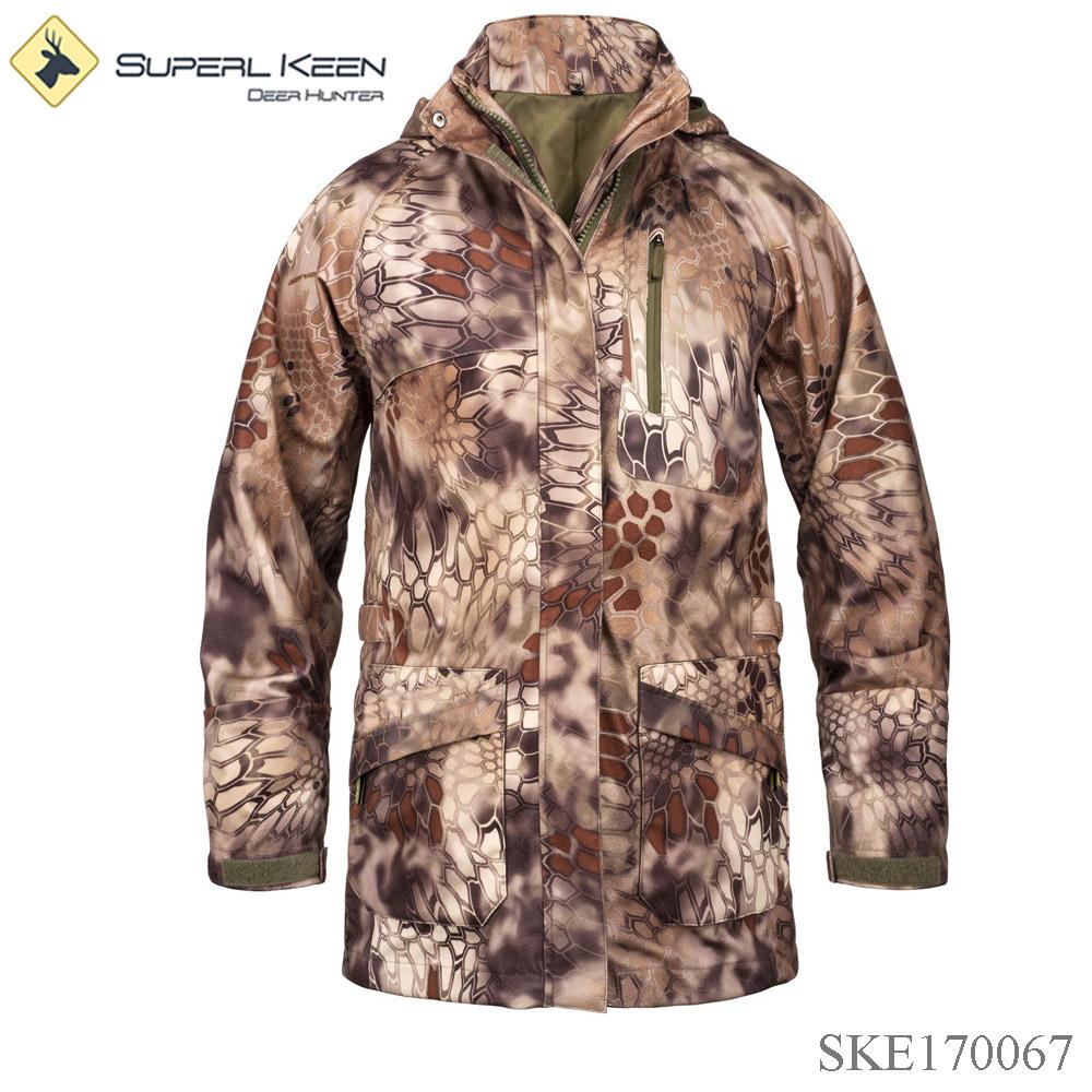 Heated Hunting Clothes >> Man Kryptek Camo Hardshell Heated Outdoor Hunting Jacket Buy