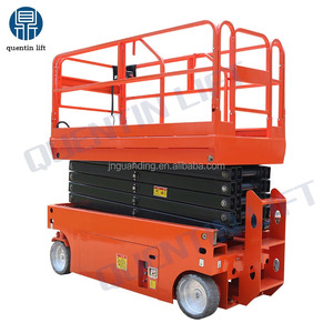 Electric self propelled fully automatic hydraulic scissor lifting platform/table