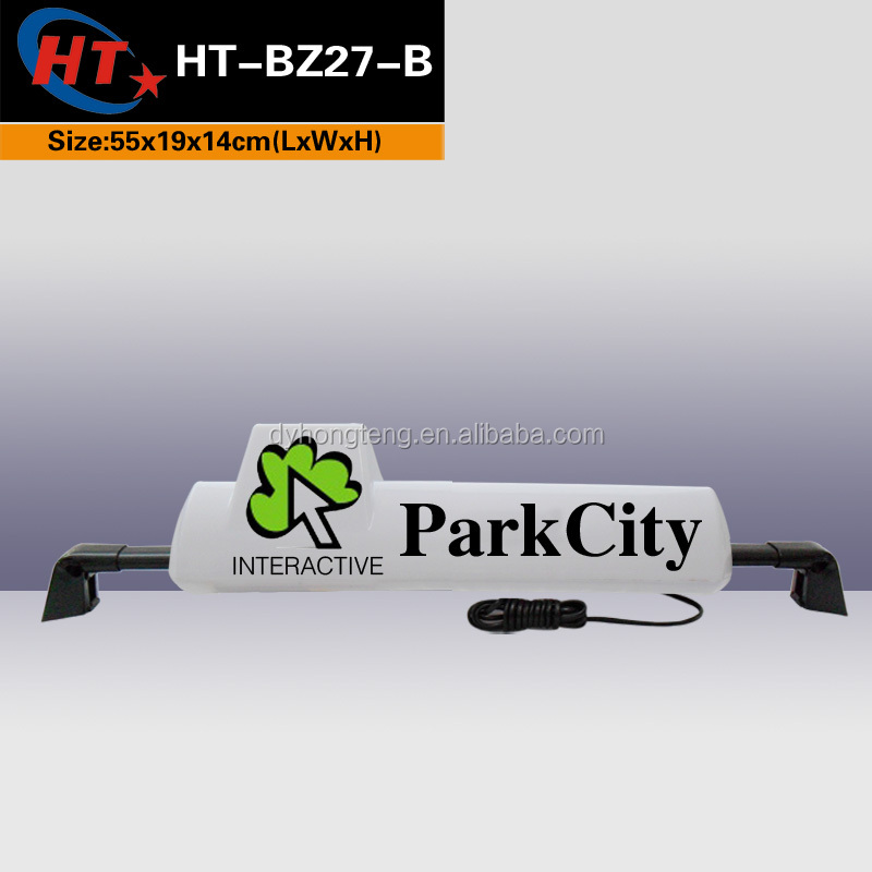 3 wheel bike taxi top ads sign for sale