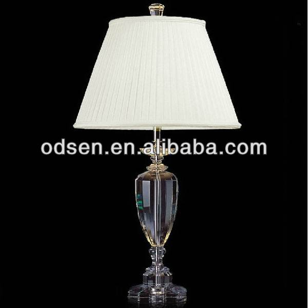 home decor crystal hotel lamp replica flos lamp taccia table lamp
