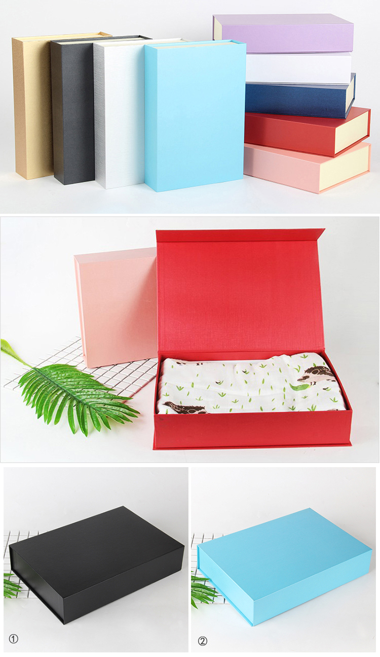 Hot selling product black matte custom printing pack flat corrugated shipping box