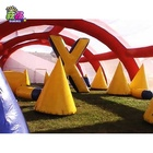 Cheap Inflatable paintball Arena, Inflatable Paintball Bunker Field Arena lasertag
