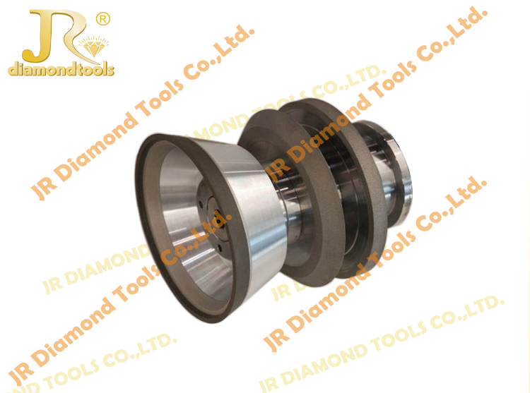 Flat and cup shaped cnc cylindrical grinding machine resin bond 75mm  CBN sharpening grinding wheels
