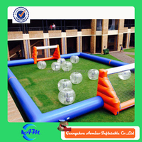 Best quality human foosball inflatable/inflatable soccer arena for sale