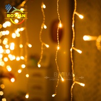 Artifical led light up solar christmas spiral rope light trees