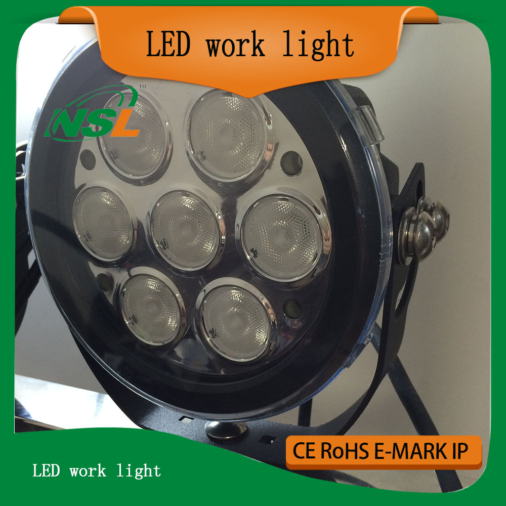 IP68 6 inch 70w led work light,led spotlight for car,12v led car spotlight for tractor UTV