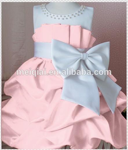 Бант из бисера на платье