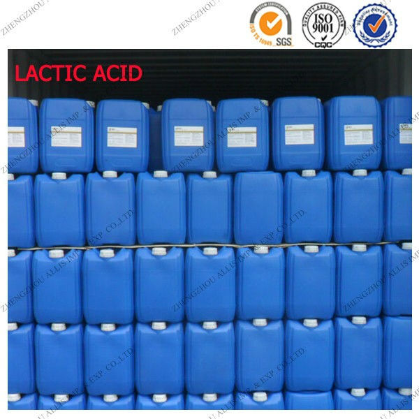 88% 90% light yellow food grade lactic acid for sale