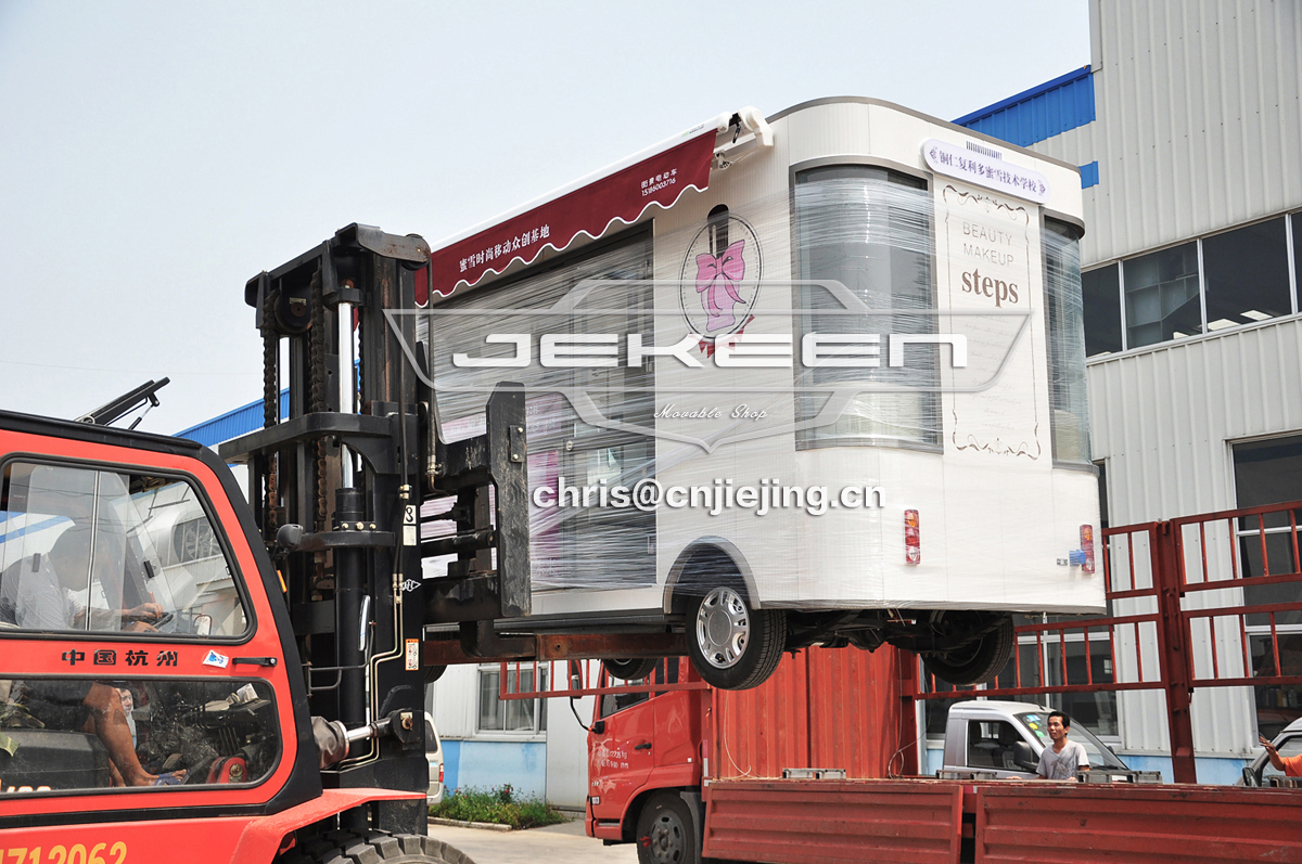 JEKEEN 5.4m customized wedding truck