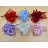 24cm Round Organza drawstring gift bags for jewelry