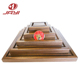 JAYI OEM Wood Pyramid Base Souvenir Coin Holder