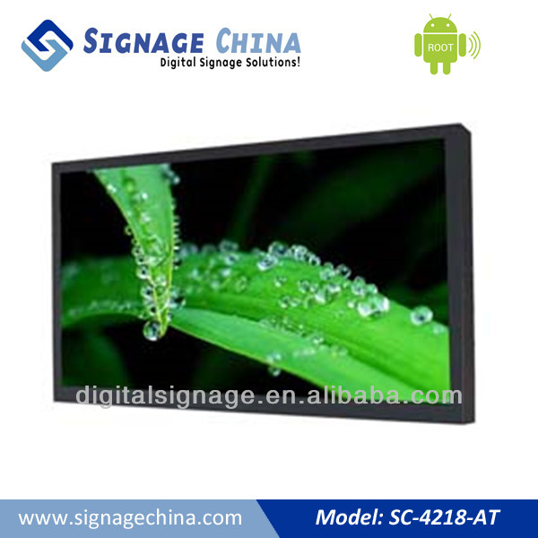 42Inches Android digital signage ireland