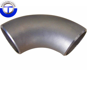 Seamless Long Radius 90 Degree Elbow DN150 SCH80 ASTM A234 WPB